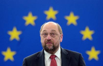 Il Presidente del Parlamento europeo Martin Schulz (Foto: PATRICK HERTZOG/AFP/Getty Images)
