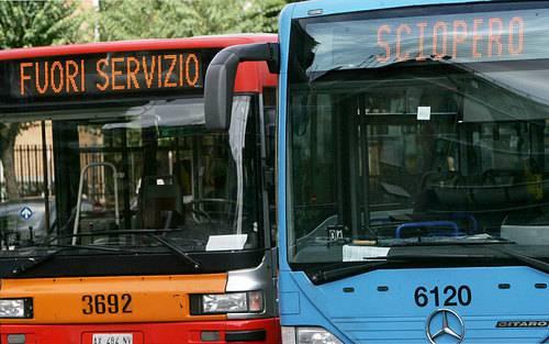 Indetto lo sciopero generale dei trasporti pubblici per il 22 luglio