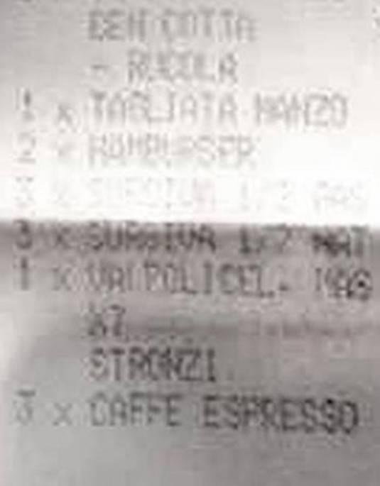 """Il cameriere offeso si vendica sullo scontrino """" VINO PER SETTE STRONZI """""""