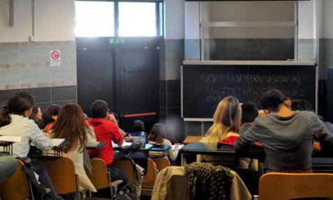 Una scuola italiana (Getty Images)