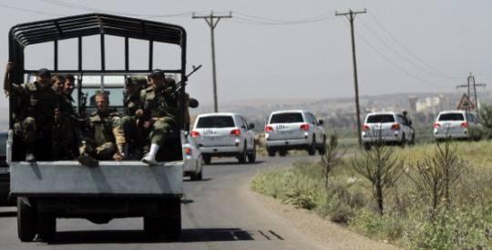 Siria: sequestrati dai ribelli 21 osservatori Onu filippini