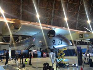 Il Solar Impulse (Foto Nasa, Credit: Jen Baer/NLSI Staff)