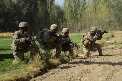Soldati Nato in Afghanistan (Getty Images)