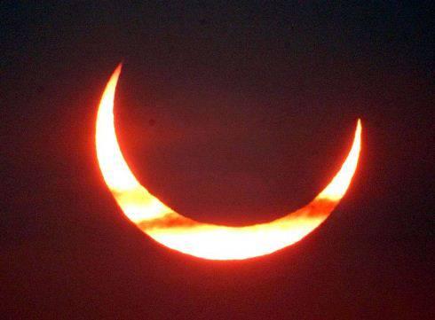 Eclissi di Sole del 4 gennaio 2011 in diretta live streaming