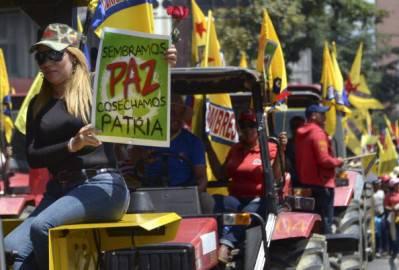 Sostenitori di Nicolas Maduro (Getty images)