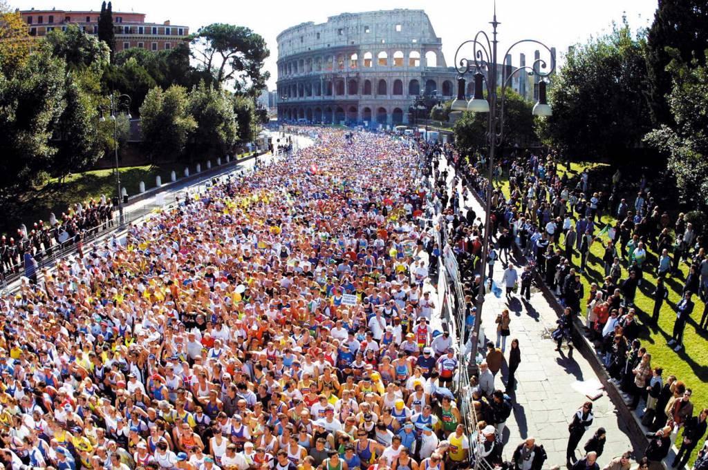 Maratona di Roma Acea 2011: record di corridori al traguardo