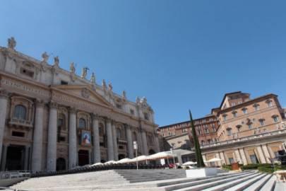 Sagrato della Basilica di San Pietro, Stato del Vaticano, Roma (Foto: Vittorio Zunino Celotto/Getty Images)