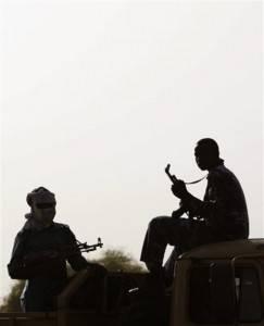Miliziani dell'Esercito di Liberazione del Popolo Sudanese