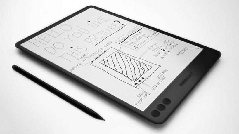 Arriva NoteSlate, il tablet per disegnare