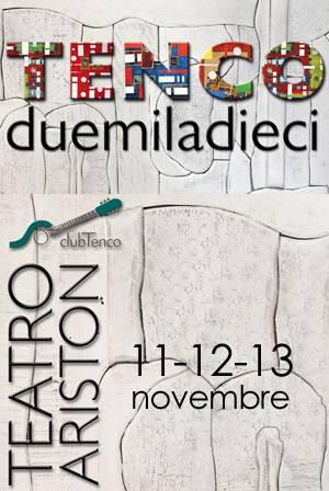 Premio Tenco 2010: dall'11 al 13 novembre