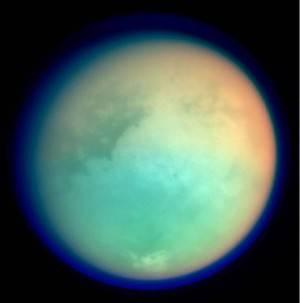 Titano, una luna di Saturno (Getty images)