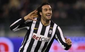 toniJuve4 300x184 Inaugurazione Juventus Stadium: il primo goal nel nuovo tempio bianconero è di Luca Toni