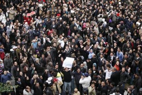 In Tunisia tre giorni di lutto in onore delle vittime della rivolta del gelsomino