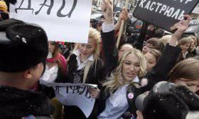 Ucraina: proteste contro la decisione del Parlamento di rendere ufficiale la lingua russa