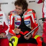 """MotoGp 2012, Valentino Rossi: """"Ducati meglio sul bagnato, ma speriamo in una gara asciutta"""""""