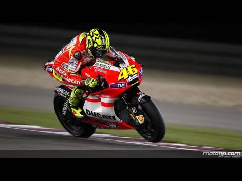 valentino rossi 2011 qatar. MotoGP 2011 Qatar Losail: