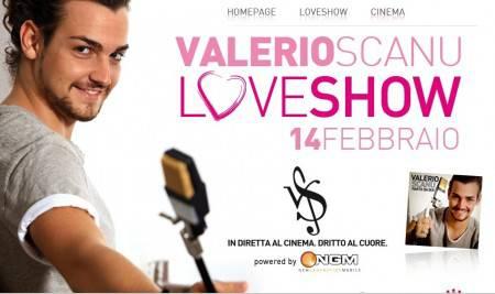 Valerio Scanu: Love Show a San Valentino