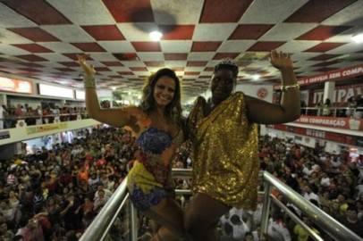 vania flor 406x270 Carnevale Rio de Janeiro 2012: ultima notte di festa blindata al Sambodromo (video YouTube)