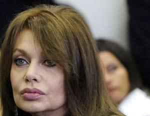 """Veronica Lario (ex moglie di Berlusconi) domani aprirà la trasmissione """"Donne di oggi"""" su """"Lei"""", canale 125 di Sky"""