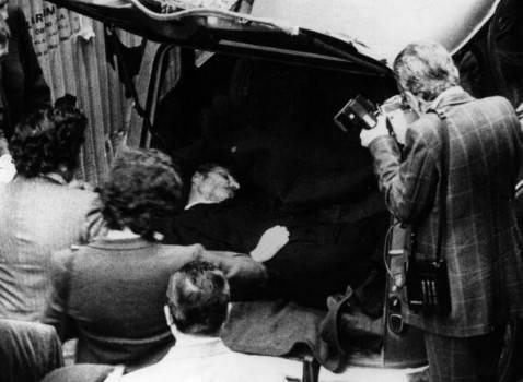 Il ritrovamento di Aldo Moro (Central Press/Getty Images)