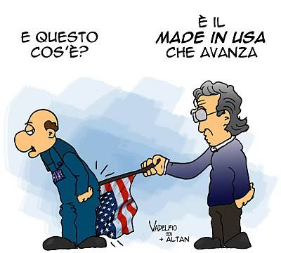Marchionne made in Usa: satira e vignette by Vadelfio