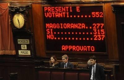 Bookmaker stranieri: Governo italiano in bilico per pochi voti