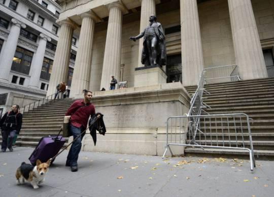 Usa: Wall Street chiusa per l'arrivo di Sandy