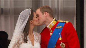 Fotogallery delle nozze reali tra William e Kate, duca e duchessa di Cambridge