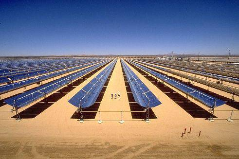 DESERTO DEL SAHARA / Energia solare, pannelli solari per esportare elettricità in tutta Europa