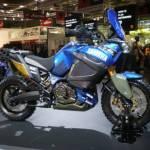 Yamaha Worldcrosser presentata al Salone di Milano 2010