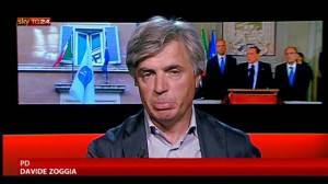 Davide Zoggia (screenshot SkyTg24)